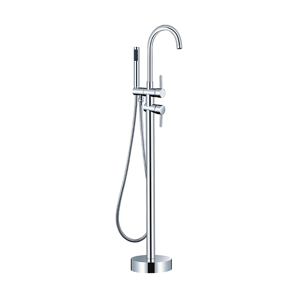 wholesale expo floor mounted faucet Lucia