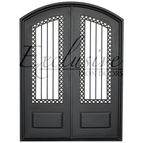 Agatha double eyebrow exclusive iron door