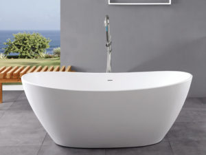 wholesale expo stone resin freestanding tubs cayes bathtub