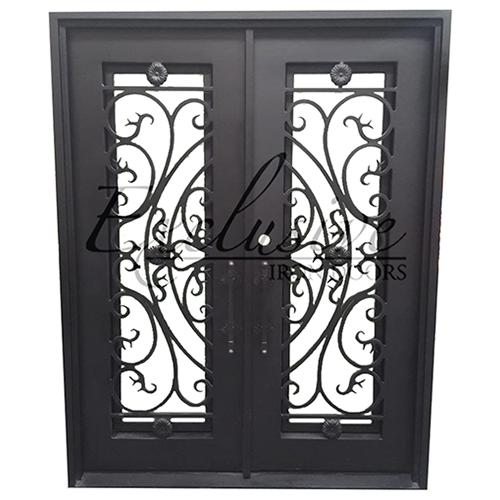 custom forest exclusive iron door