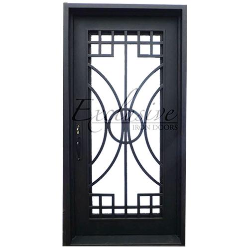 custom canyon exclusive iron door