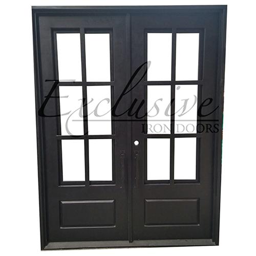 Eleanor double square exclusive iron door