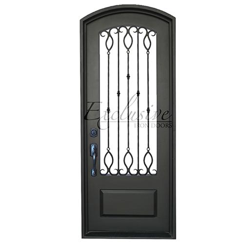 florence single eyebrow exclusive iron door
