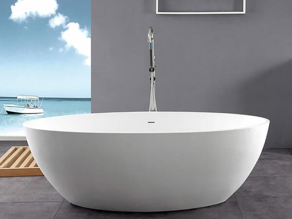 wholesale expo stone resin freestanding tubs Isla bathtub