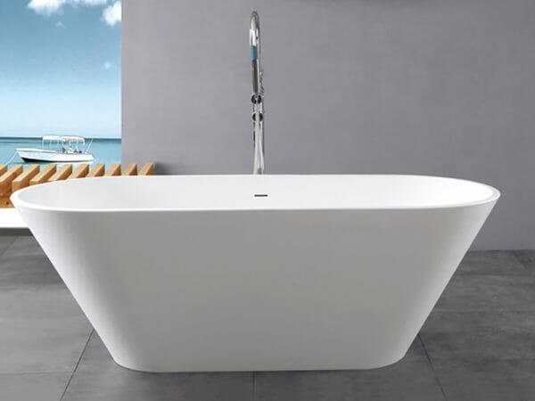wholesale expo stone resin freestanding tubs Malta bathtub