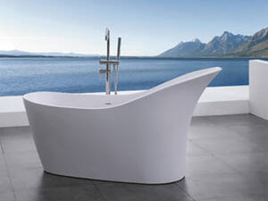 wholesale expo stone resin freestanding tubs patos bathtub