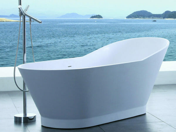 wholesale expo stone resin freestanding tubs riva bathtub