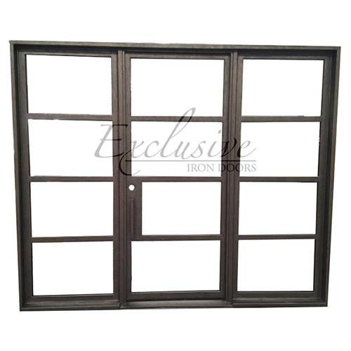riva sidelights exclusive iron door