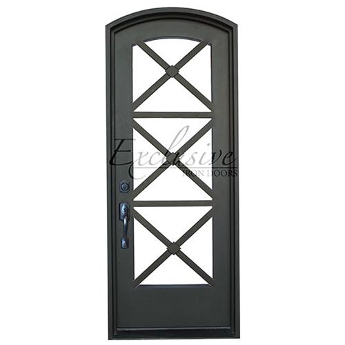 Camille single eyebrow exclusive iron door