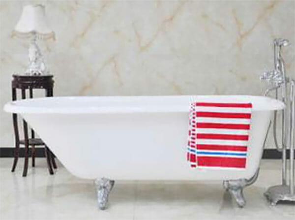 wholesale expo cast iron freestanding tub Congo bathtub
