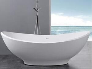 wholesale expo stone resin freestanding tubs Cyprus bathtub