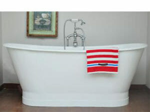 wholesale expo cast iron freestanding tub flint bathtub