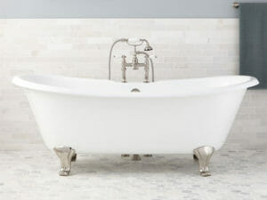 wholesale expo cast iron freestanding tub Georgia bathtub