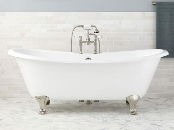 wholesale expo cast iron freestanding tub Georgia bathtub