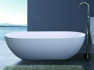 wholesale expo stone resin freestanding tubs luna bathtub