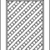 Wholesale Expo custom cabinet lattice door